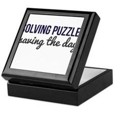 Solving Puzzles, Saving the Day Keepsake Box