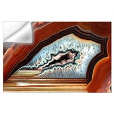 Slice of agate Wall Decal