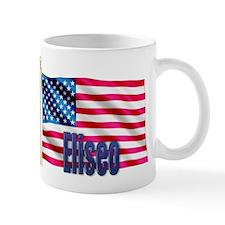 Eliseo Personalized USA Flag Mug