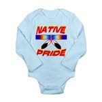 NATIVE PRIDE Long Sleeve Infant Bodysuit