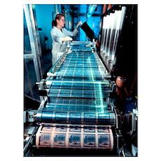 Intelligent label chip manufacture Poster