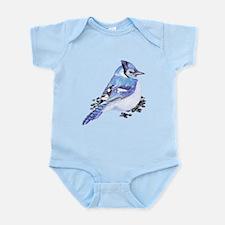 Original Watercolor Blue Jay Infant Bodysuit