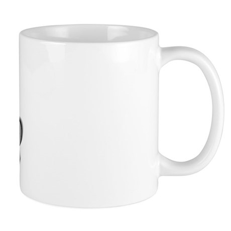 """Math Teacher Silver"" Mug"
