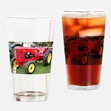 Massey-Harris Tractor Drinking Glass