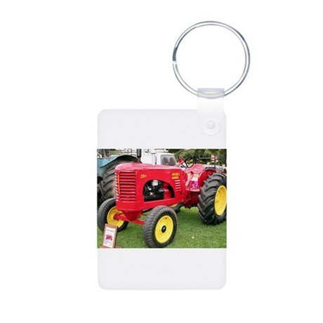 Massey-Harris Tractor Aluminum Photo Keychain