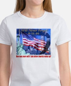 9-11 Tribute & Warning Tee