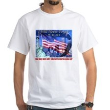 9-11 Tribute & Warning Shirt