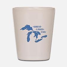 GREAT LAKES USA Shot Glass