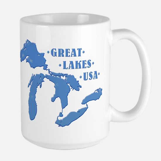 GREAT LAKES USA Large Mug