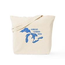GREAT LAKES USA Tote Bag
