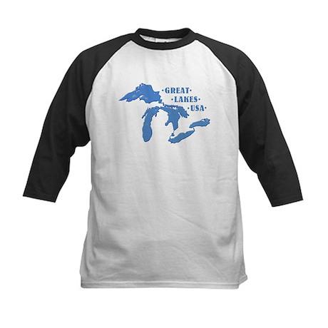 GREAT LAKES USA Kids Baseball Jersey