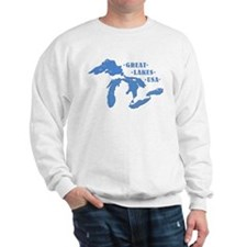 GREAT LAKES USA Sweatshirt