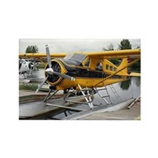 Beaver float plane Rectangle Magnet