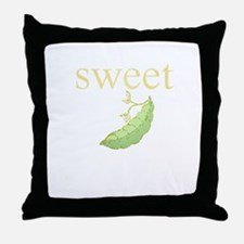 Personality_SweetPea.png Throw Pillow