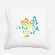 CoiFish.png Square Canvas Pillow