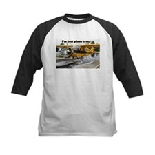 I'm just plane crazy: Beaver float plane Tee