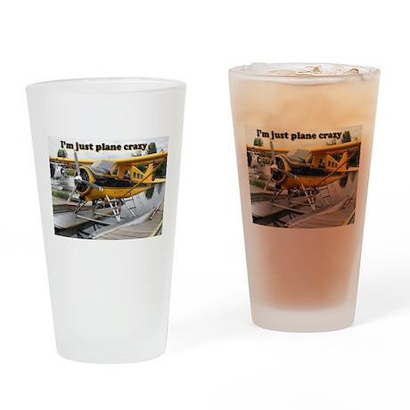 I'm just plane crazy: Beaver float plane Drinking