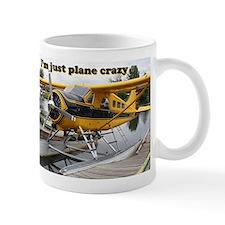 I'm just plane crazy: Beaver float plane Mug