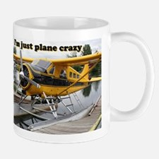 I'm just plane crazy: Beaver float plane Mug