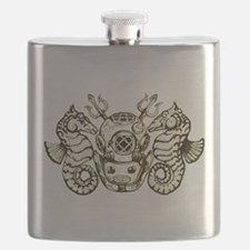 Classic Navy Master Diver Flask