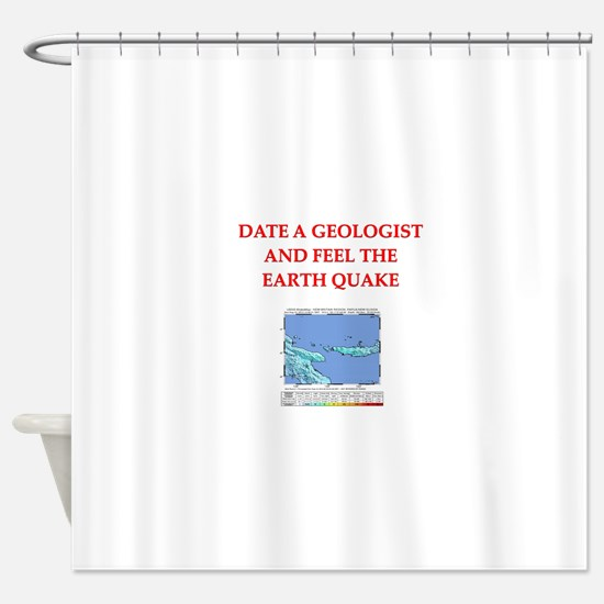 GEOLOGIST5.png Shower Curtain