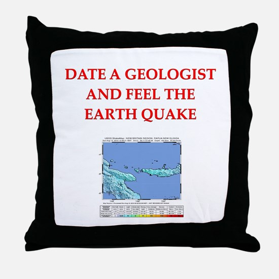 GEOLOGIST5.png Throw Pillow