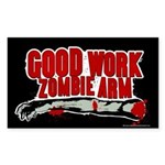 Cabin in the Woods Zombie Arm Sticker (Rectangle)