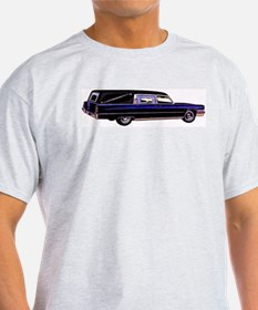 The Hearse  Ash Grey T-Shirt
