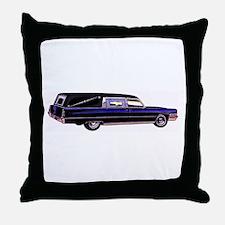 The Hearse  Throw Pillow