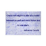 Gandhi quote magnets 100 Pack