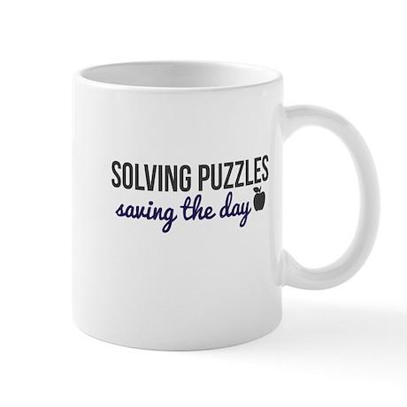 Solving Puzzles, Saving the Day Bering & Wells Mug