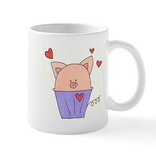 Piggie Muffin Small Small Mug