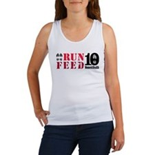 RUN 10 FEED 10 Tank Top