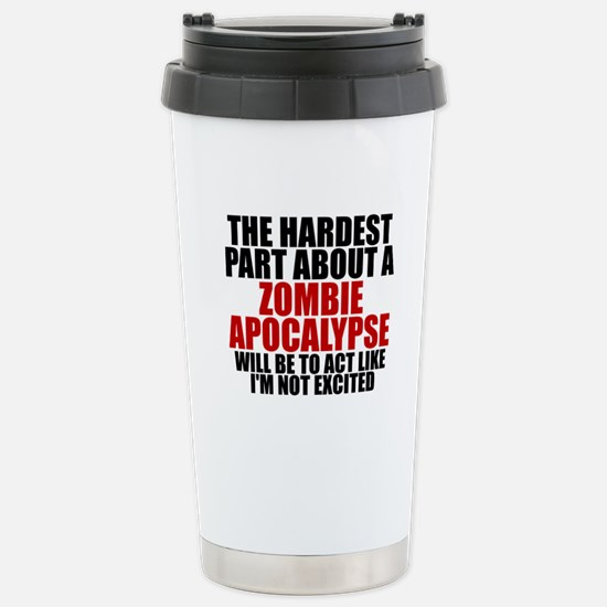 Exciting zombie apocalypse Stainless Steel Travel