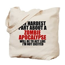 Exciting zombie apocalypse Tote Bag