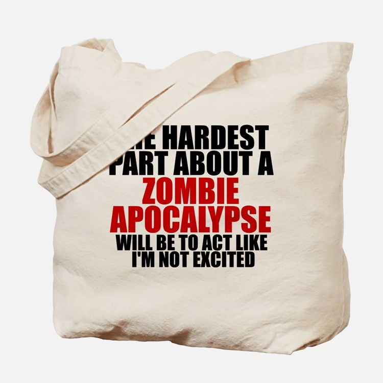 Exciting zombie apocalypse Tote Bag