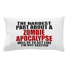 Exciting zombie apocalypse Pillow Case