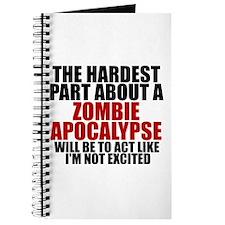 Exciting zombie apocalypse Journal