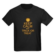 keep calm and trick or treat Halloween T