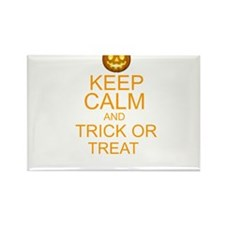 keep calm and trick or treat Halloween Rectangle M