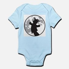 Fool Moon Puppetry Arts logo Infant Bodysuit