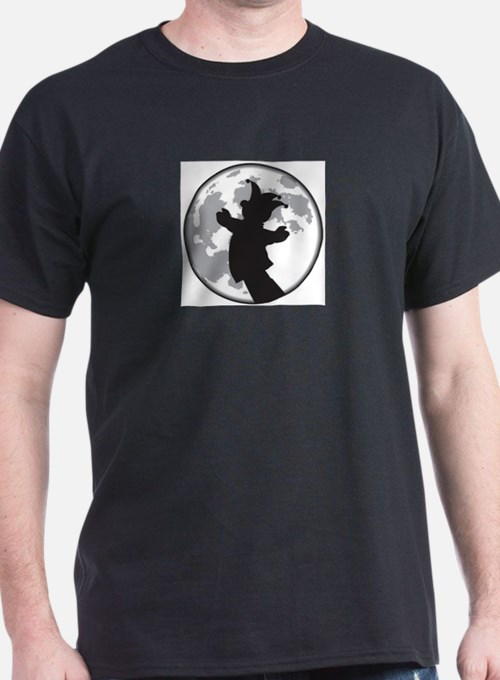 Fool Moon Puppetry Arts logo T-Shirt