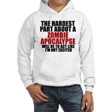 Exciting zombie apocalypse Hoodie Sweatshirt