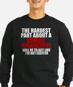 Exciting zombie apocalypse T