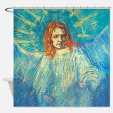 Vincent Van Gogh Angel Shower Curtain