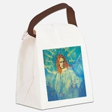 Vincent Van Gogh Angel Canvas Lunch Bag