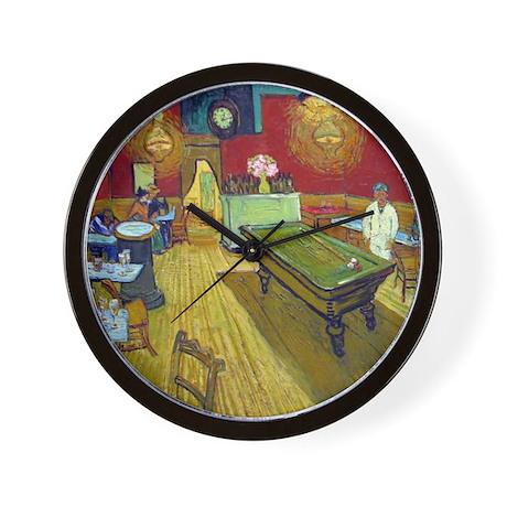 Van Gogh Night Cafe Wall Clock