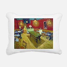 Van Gogh Night Cafe Rectangular Canvas Pillow