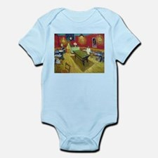 Van Gogh Night Cafe Infant Bodysuit