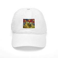 Van Gogh Night Cafe Baseball Cap